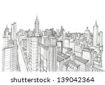 architecture sketch | Shutterstock .eps vector #139042364