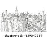 architecture sketch | Shutterstock .eps vector #139042364