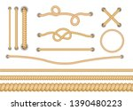 Set Of Various Types Of...
