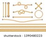set of various types of... | Shutterstock .eps vector #1390480223
