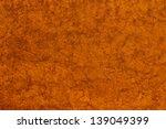 Orange Stone Background Close Up