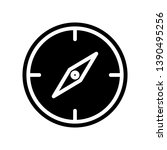 compass icon. element of...
