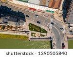 beautiful salzburg landscape... | Shutterstock . vector #1390505840