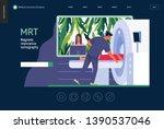 medical tests template   mrt  ... | Shutterstock .eps vector #1390537046