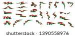 madagascar flag  vector... | Shutterstock .eps vector #1390558976