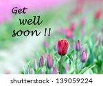 Get Well Soon Wishing Card