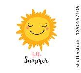 t shirt print design for kids...   Shutterstock .eps vector #1390597106