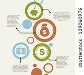 infographics and economics... | Shutterstock .eps vector #139060976