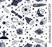 universe texture design....   Shutterstock .eps vector #1390649729