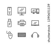 computer icon you can use for... | Shutterstock .eps vector #1390651139