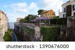 Views Of A Cliffside Restauran...