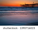 A Colorful Sunset At The Pismo...