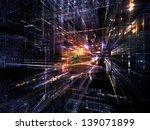 fractal city series. backdrop... | Shutterstock . vector #139071899
