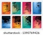 a4 vector brochure banner... | Shutterstock .eps vector #1390769426