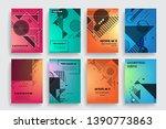 vector a4 brochure banners... | Shutterstock .eps vector #1390773863