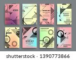 vector a4 brochure banners... | Shutterstock .eps vector #1390773866