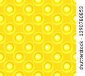 seamless pattern with sun.... | Shutterstock .eps vector #1390780853