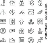 thin line vector icon set  ... | Shutterstock .eps vector #1390811306