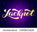vector illustration. jackpot...   Shutterstock .eps vector #1390815620