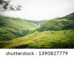 journey through the swiss alps  ... | Shutterstock . vector #1390827779