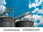 Agricultural Silo At Feed Mill...