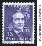 austria   circa 1962  stamp... | Shutterstock . vector #139084646