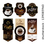 coffee design banners. menu and ... | Shutterstock .eps vector #139085960