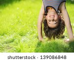 portraits of happy kids playing ... | Shutterstock . vector #139086848