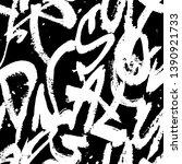 abstract seamless grunge text... | Shutterstock .eps vector #1390921733