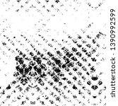black dusty scratchy texture.... | Shutterstock .eps vector #1390992599