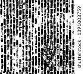 black dusty scratchy texture.... | Shutterstock .eps vector #1391003759