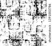 black dusty scratchy texture.... | Shutterstock .eps vector #1391003786