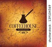 menu for restaurant  cafe  bar  ... | Shutterstock .eps vector #139104569