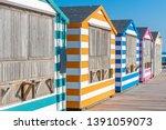 Colorful Beach Cabanas Taken At ...