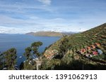 panorama view with colrful... | Shutterstock . vector #1391062913