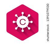 white copywriting network icon... | Shutterstock .eps vector #1391079530