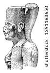 khufu  he was an ancient... | Shutterstock .eps vector #1391163650