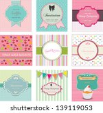 set of vintage labels and... | Shutterstock .eps vector #139119053