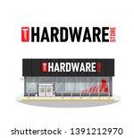 vector illustration of hardware ... | Shutterstock .eps vector #1391212970