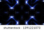 abstract kaleidoscope... | Shutterstock . vector #1391221073