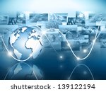best internet concept of global ... | Shutterstock . vector #139122194