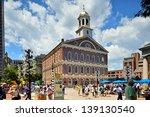 boston  ma   june 9  a crowd of ... | Shutterstock . vector #139130540
