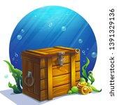 vector illustration closed... | Shutterstock .eps vector #1391329136