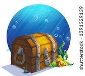vector illustration closed... | Shutterstock .eps vector #1391329139