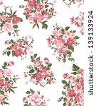 spring floral  flower seamless... | Shutterstock .eps vector #139133924