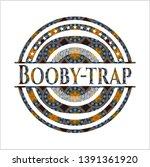 booby trap arabesque style... | Shutterstock .eps vector #1391361920