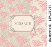 vector   vintage banner with... | Shutterstock .eps vector #139139084