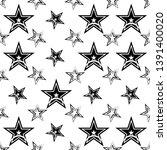 star icon seamless pattern ...   Shutterstock .eps vector #1391400020