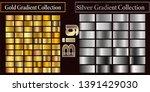 gold silver gradient pattern... | Shutterstock .eps vector #1391429030