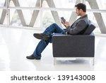 attractive business man in his... | Shutterstock . vector #139143008